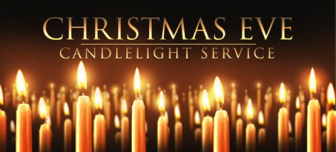 CHRISTMAS EVE CANDELIGHT SERVICE - 7:00 pm