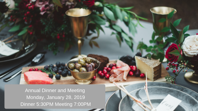 Annual Dinner and Meeting 2019